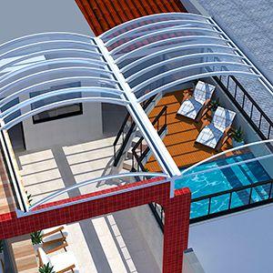 Projetos para Toldos em 3D